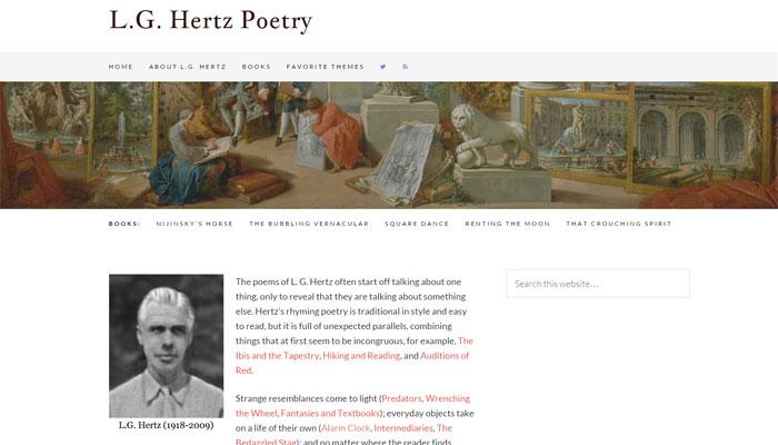 LG Hertz poet - website