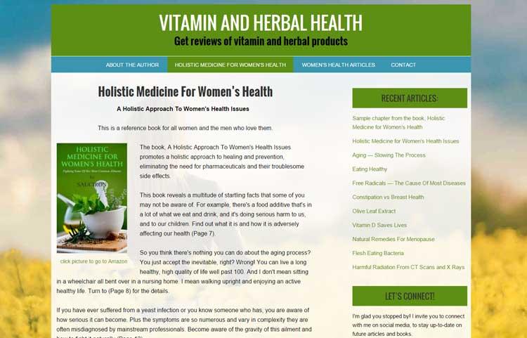 Vitamin and Herbal Health