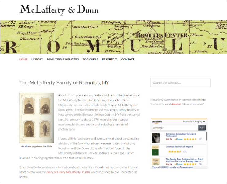 McLafferty & Dunn Genealogy