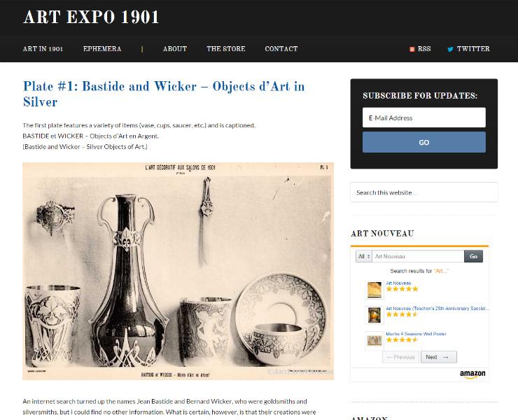 Art Expo 1901 - Art Nouveau